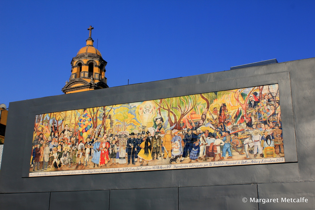 Museo mural diego rivera for Central park mural